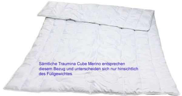 Traumina Cube Bio Wolle Duo leicht WK 3