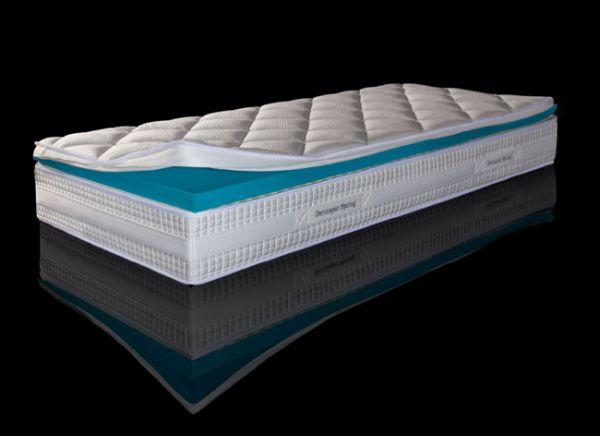 Dermapur Matratze Spring Inside Green Air Matratze und integrierter Topper