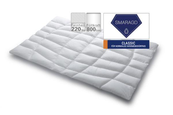 Schlafstil Selection Smaragd Clasic Daunendecke